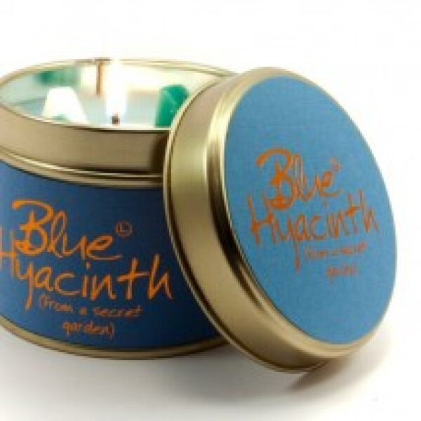 Blue Hyacinth Tinned Candle