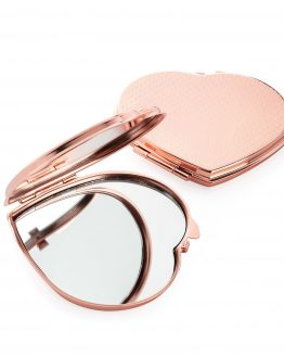 Heart Shape Compact Mirror