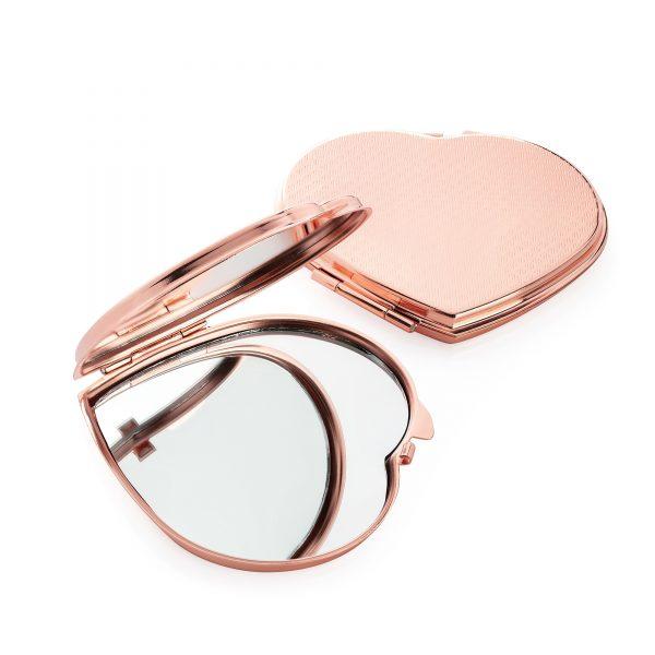 Heart Shape Compact Mirror
