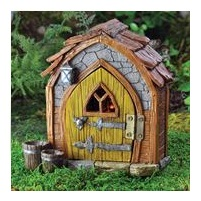 Gnome foyer rustic house miniture for mythical and fairy garden creation