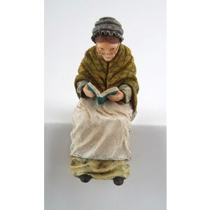 Grandmother 1/12th scale resin dolls house figure.