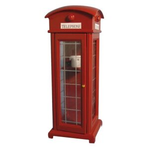 Telephone Box 1/12th Scale dolls house miniture.