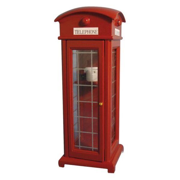 Telephone Box 1/12th Scale dolls house miniture.
