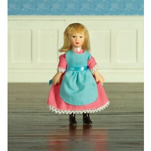 Delphia porcelain poseable doll 1/12th scale