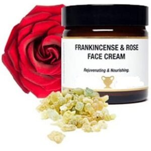 frankincense rose face cream.