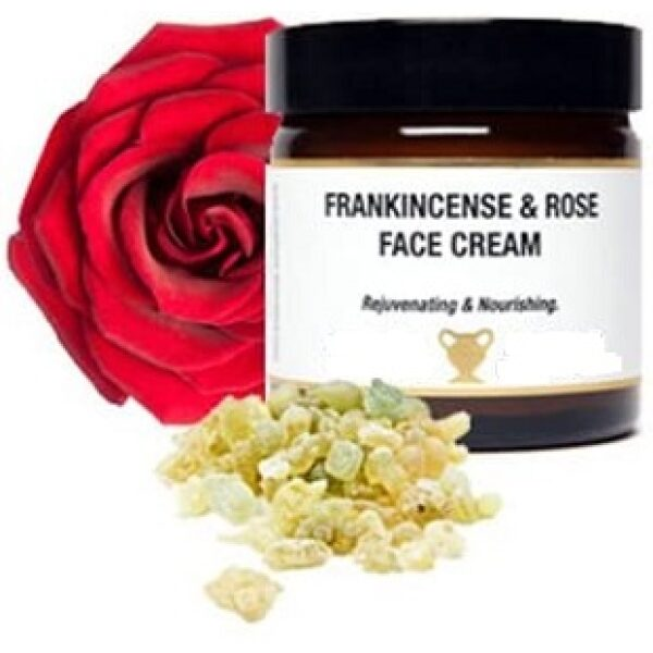 frankincense rose face cream.