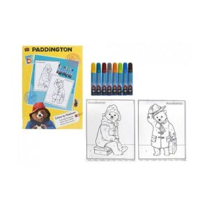 Paddington Bear Colour By Numbers Set