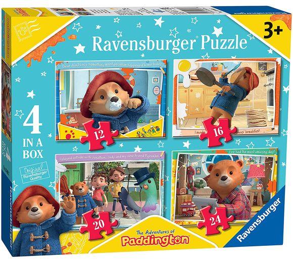 Paddington Bear Jigsaw: 4 in a Box Puzzles (12, 16, 20 & 24 pces) (3+ YRS)